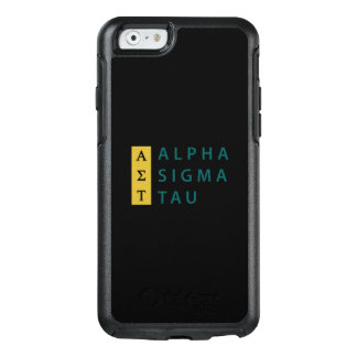 Alpha Sigma Tau Stacked OtterBox iPhone 6/6s Case