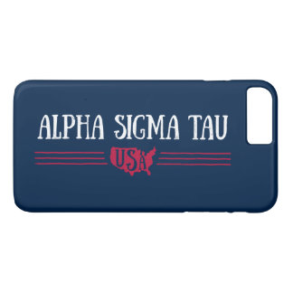 Alpha Sigma Tau USA iPhone 8 Plus/7 Plus Case