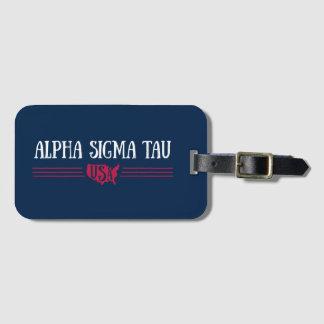 Alpha Sigma Tau USA Luggage Tag