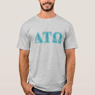Alpha Tau Omega Blue Letters T-Shirt