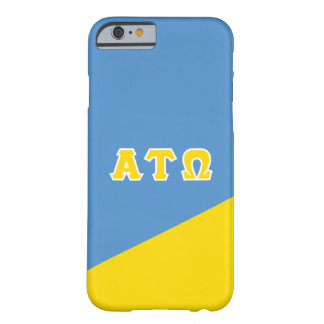 Alpha Tau Omega   Greek Letters Barely There iPhone 6 Case