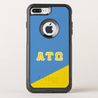 Alpha Tau Omega   Greek Letters OtterBox Commuter iPhone 8 Plus/7 Plus Case