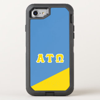 Alpha Tau Omega | Greek Letters OtterBox Defender iPhone 8/7 Case