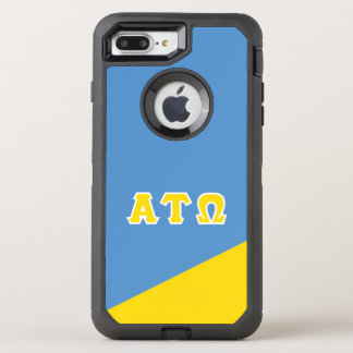 Alpha Tau Omega   Greek Letters OtterBox Defender iPhone 8 Plus/7 Plus Case