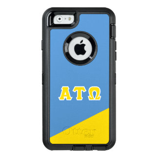 Alpha Tau Omega   Greek Letters OtterBox Defender iPhone Case