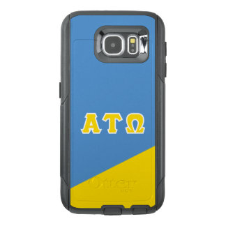 Alpha Tau Omega   Greek Letters OtterBox Samsung Galaxy S6 Case