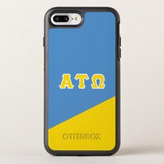 Alpha Tau Omega   Greek Letters OtterBox Symmetry iPhone 8 Plus/7 Plus Case