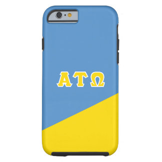 Alpha Tau Omega | Greek Letters Tough iPhone 6 Case