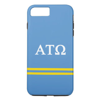 Alpha Tau Omega | Sport Stripe iPhone 8 Plus/7 Plus Case