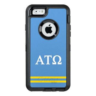 Alpha Tau Omega | Sport Stripe OtterBox Defender iPhone Case