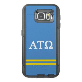 Alpha Tau Omega   Sport Stripe OtterBox Samsung Galaxy S6 Case