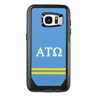 Alpha Tau Omega | Sport Stripe OtterBox Samsung Galaxy S7 Edge Case