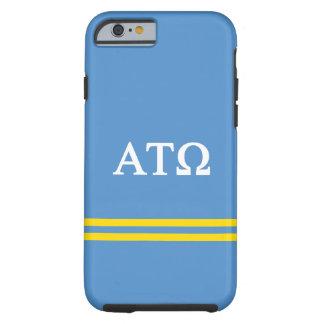 Alpha Tau Omega | Sport Stripe Tough iPhone 6 Case