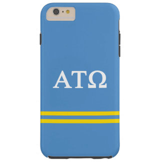 Alpha Tau Omega | Sport Stripe Tough iPhone 6 Plus Case