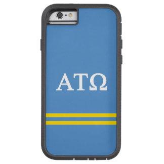 Alpha Tau Omega   Sport Stripe Tough Xtreme iPhone 6 Case