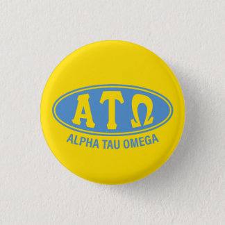Alpha Tau Omega | Vintage 1 Inch Round Button