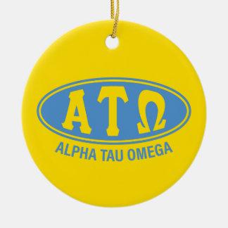 Alpha Tau Omega | Vintage Ceramic Ornament