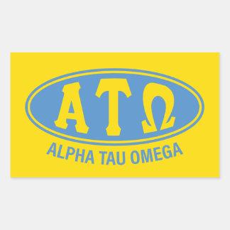 Alpha Tau Omega | Vintage Sticker