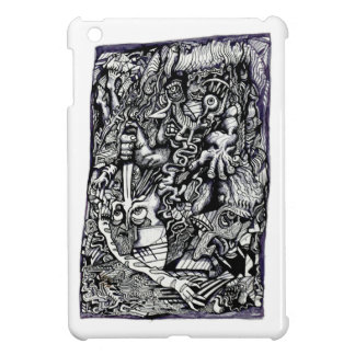 Alpha Warrior, by Brian Benson iPad Mini Cases