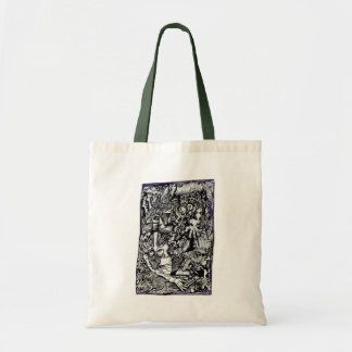 Alpha Warrior, by Brian Benson Tote Bag