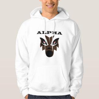 Alpha Wolf Male Hoody