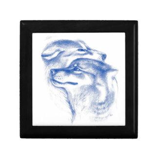 Alpha Wolves Love Art Gift Box