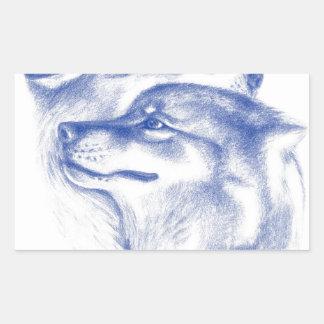 Alpha Wolves Love Art Sticker