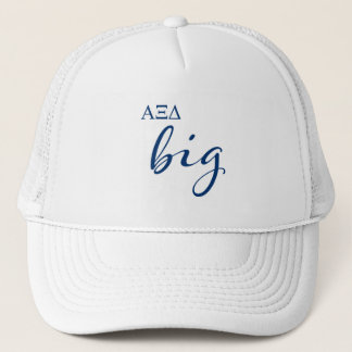 Alpha Xi Delta Big Script Trucker Hat