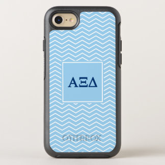 Alpha Xi Delta   Chevron Pattern OtterBox Symmetry iPhone 8/7 Case