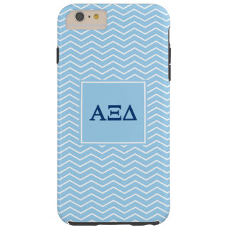 Alpha Xi Delta | Chevron Pattern Tough iPhone 6 Plus Case