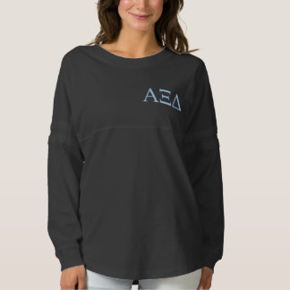 Alpha Xi Delta Lil Big Logo Spirit Jersey