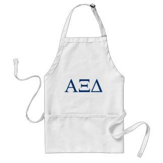 Alpha Xi Delta Lil Big Logo Standard Apron