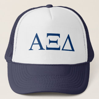 Alpha Xi Delta Lil Big Logo Trucker Hat