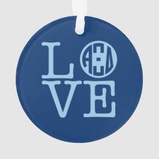 Alpha Xi Delta Love Ornament