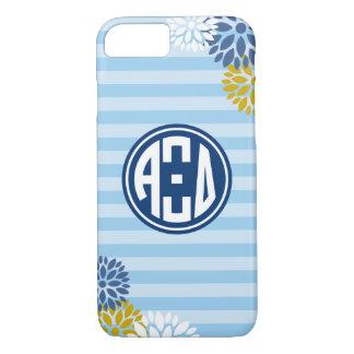 Alpha Xi Delta | Monogram Stripe Pattern iPhone 7 Case