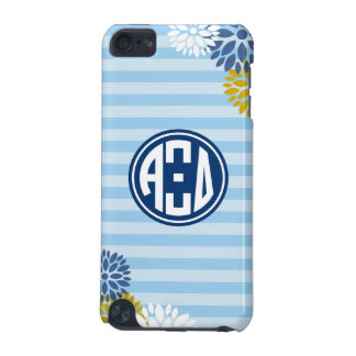 Alpha Xi Delta | Monogram Stripe Pattern iPod Touch 5G Covers