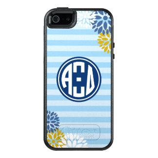 Alpha Xi Delta | Monogram Stripe Pattern OtterBox iPhone 5/5s/SE Case