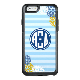 Alpha Xi Delta | Monogram Stripe Pattern OtterBox iPhone 6/6s Case