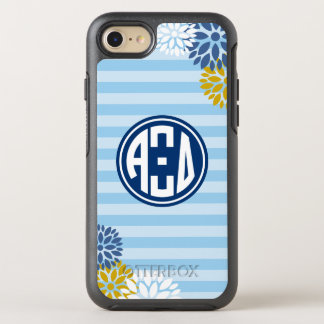 Alpha Xi Delta | Monogram Stripe Pattern OtterBox Symmetry iPhone 8/7 Case