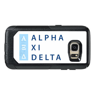 Alpha Xi Delta Stacked OtterBox Samsung Galaxy S7 Case