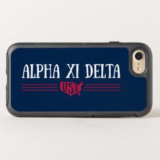 Alpha Xi Delta USA OtterBox Symmetry iPhone 8/7 Case