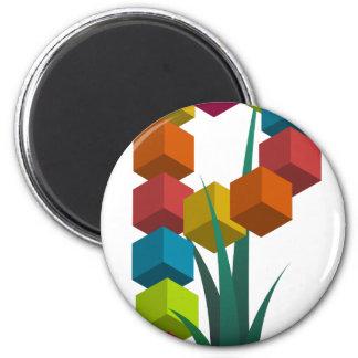 alphabep 2 inch round magnet