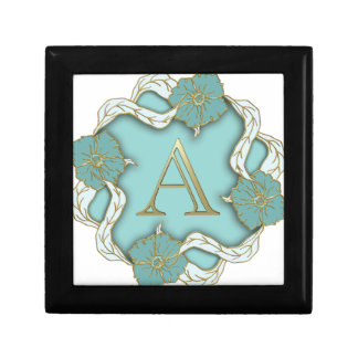 alphabet A monogram Gift Box