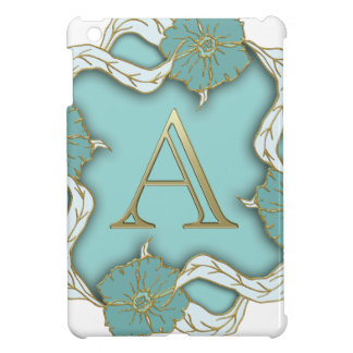 alphabet A monogram iPad Mini Cover
