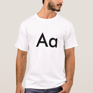 Alphabet - Aa T-Shirt