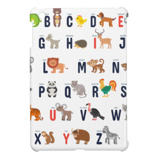 Alphabet Animals - super cute! Case For The iPad Mini