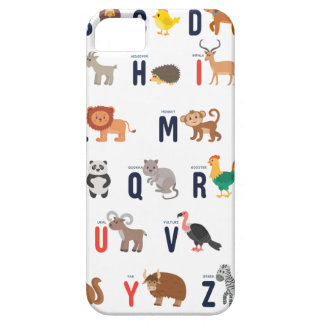 Alphabet Animals - super cute! Case For The iPhone 5