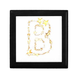 alphabet b gift box