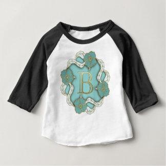 alphabet b monogram baby T-Shirt