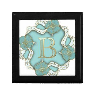 alphabet b monogram gift boxes